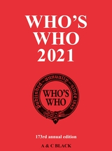 Who's Who 2021 cover